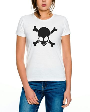 Alien Skull Women T-Shirt – Bild 2