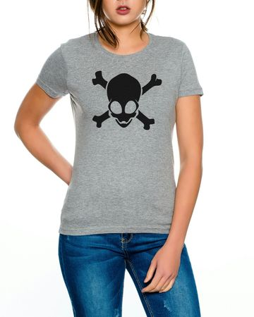 Alien Skull Women T-Shirt – Bild 4