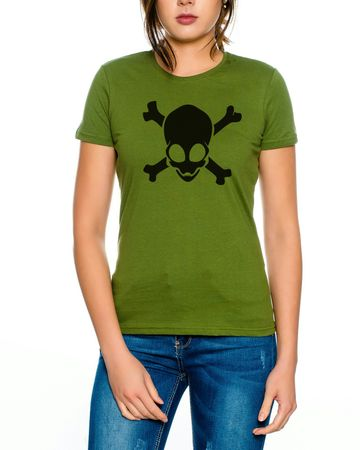 Alien Skull Women T-Shirt – Bild 5
