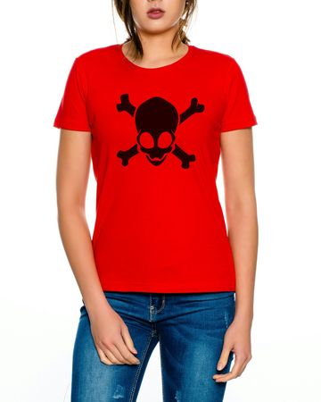 Alien Skull Women T-Shirt – Bild 1