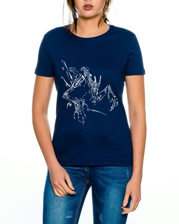 Alien Damen T-Shirt – Bild 3