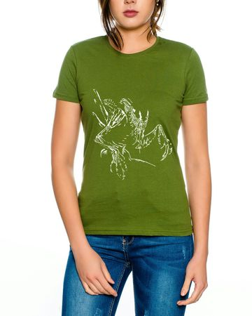 Alien Damen T-Shirt – Bild 4