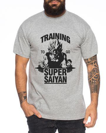 Goku Super Saiyajin Men T-Shirt – Bild 1