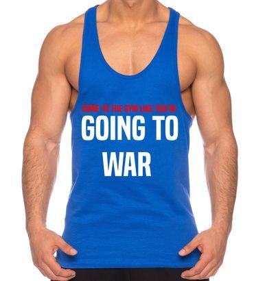 Sambosa Herren Tank Top Going to War