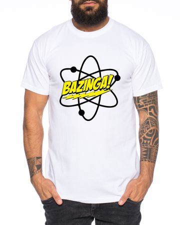 Big Bazinga Science Bang Theory Nerd Men's T-Shirt  – Bild 5