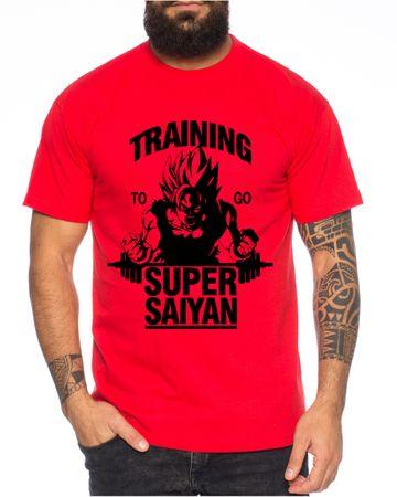 Goku Super Saiyan Men's T-Shirt  – Bild 5