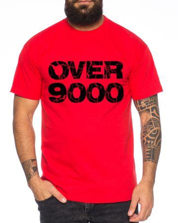 Over 9000 Men's T-Shirt  – Bild 6