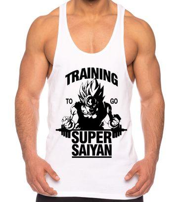 Goku Super Saiyan Herren Tank Top
