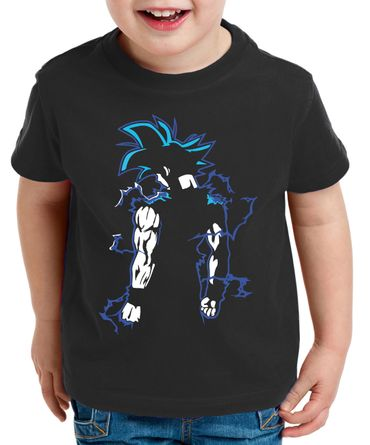 Goku Back Kinder T-Shirt – Bild 1