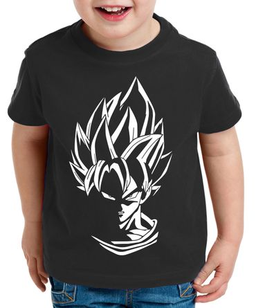 Super Son Goku Kinder T-Shirt – Bild 1