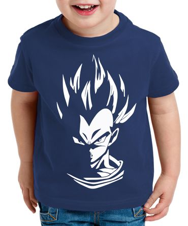 Super Vegeta Kinder T-Shirt – Bild 3
