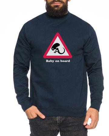 BabyOnBoard Herren Sweatshirt – Bild 1