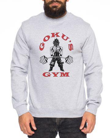 GokuGolds Nerd Men's Sweatshirt – Bild 2