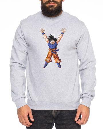 Gokupower Nerd Men's Sweatshirt – Bild 3