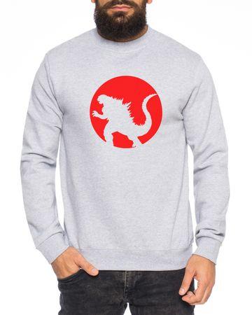 Godzilla Herren Sweatshirt – Bild 3