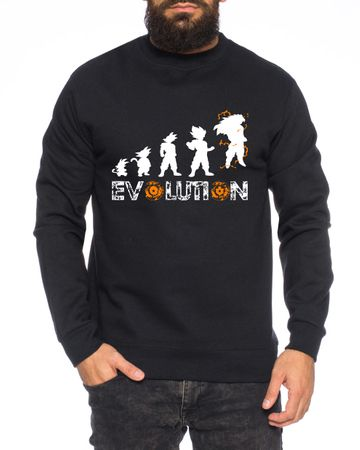 Evolution Herren Sweatshirt – Bild 2