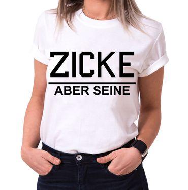 Idiot Zicke Partnerlook Couple T-Shirt Set Mouse – Bild 5