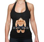 Sambosa Gobody Golds Goku Damen Tank Top Gym  001