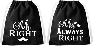 Gym Bag Set for Couples & Friends / 20 Designs / Sambosa Gym Bag with Quote / Bag: Black / Backpack / Jute Bag / Sports Bag / Hipster / College Bag / Sports Bag – Bild 15