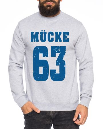 Mücke 63 Buddy Movie Star Film Men's Sweatshirt – Bild 2