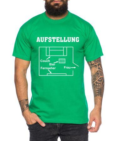 Aufstellung Herren T-Shirt Cooles lustiges Fun-Shirt – Bild 5