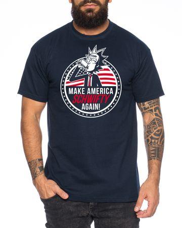 Make America Schwifty again Men's T-Shirt Morty dan Sanchez Mr Rick Meeseeks Harmon  – Bild 3