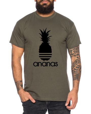 Adi Ananas Men's T-Shirt Cool Fun Shirt – Bild 3