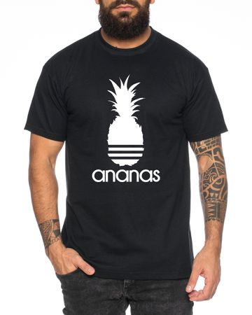 Adi Ananas Men's T-Shirt Cool Fun Shirt – Bild 1