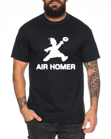 Air Homer Men's T-Shirt Cool Fun Shirt – Bild 4