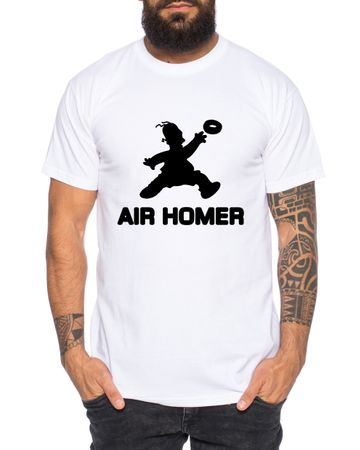 Air Homer Men's T-Shirt Cool Fun Shirt – Bild 2