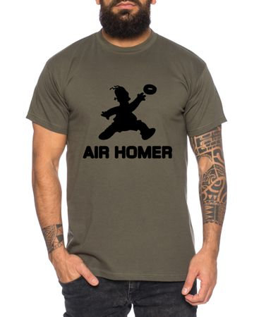 Air Homer Men's T-Shirt Cool Fun Shirt – Bild 1