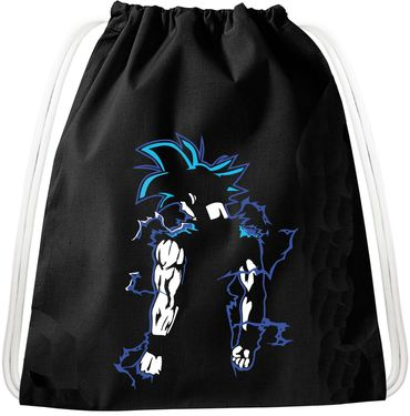Goba Goku Dragon Backpack Bag Gym Bag Sport Jute Pouch, Backpack