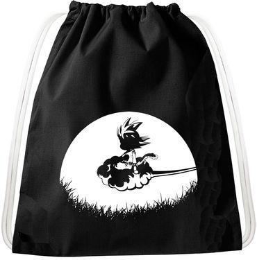 Sunrise Goku Dragon Backpack Bag Gym Bag Sport Jute Pouch, Backpack