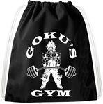 Golds Gym Goku Dragon Backpack Bag Gym Bag Sport Jute Pouch, Backpack 001