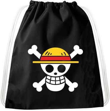 Logo Luffy Pirate Backpack Bag Gym Bag Sport Jute Pouch Pirate Gang