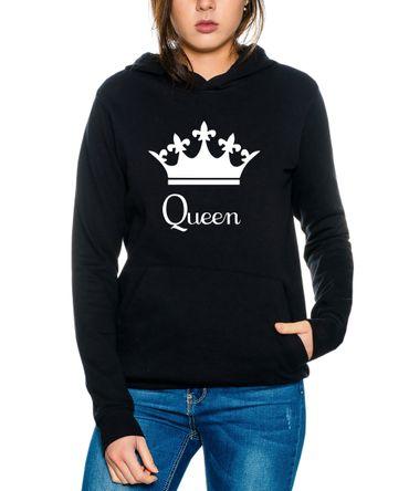 Down King Queen Partnerlook Couple Hoodie Mouse – Bild 3