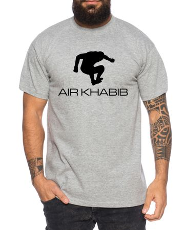 Air Khabib Men's T-Shirt Cool Fitness Sport Shirt – Bild 5