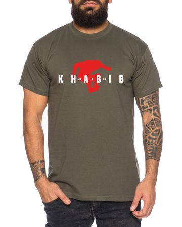 Air Khabib II Men's T-Shirt Cool Fitness Sport Shirt – Bild 3