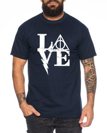 Harry Love Men's T-Shirt Potter Magic Magic School Harry – Bild 5