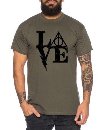 Harry Love Men's T-Shirt Potter Magic Magic School Harry – Bild 2