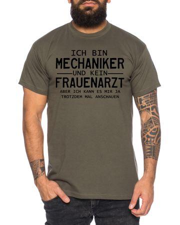 Mechaniker Men's T-Shirt Cool Fun Shirt – Bild 2
