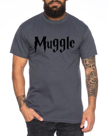 Muggle Men's T-Shirt Potter Magic Magic School Harry – Bild 3