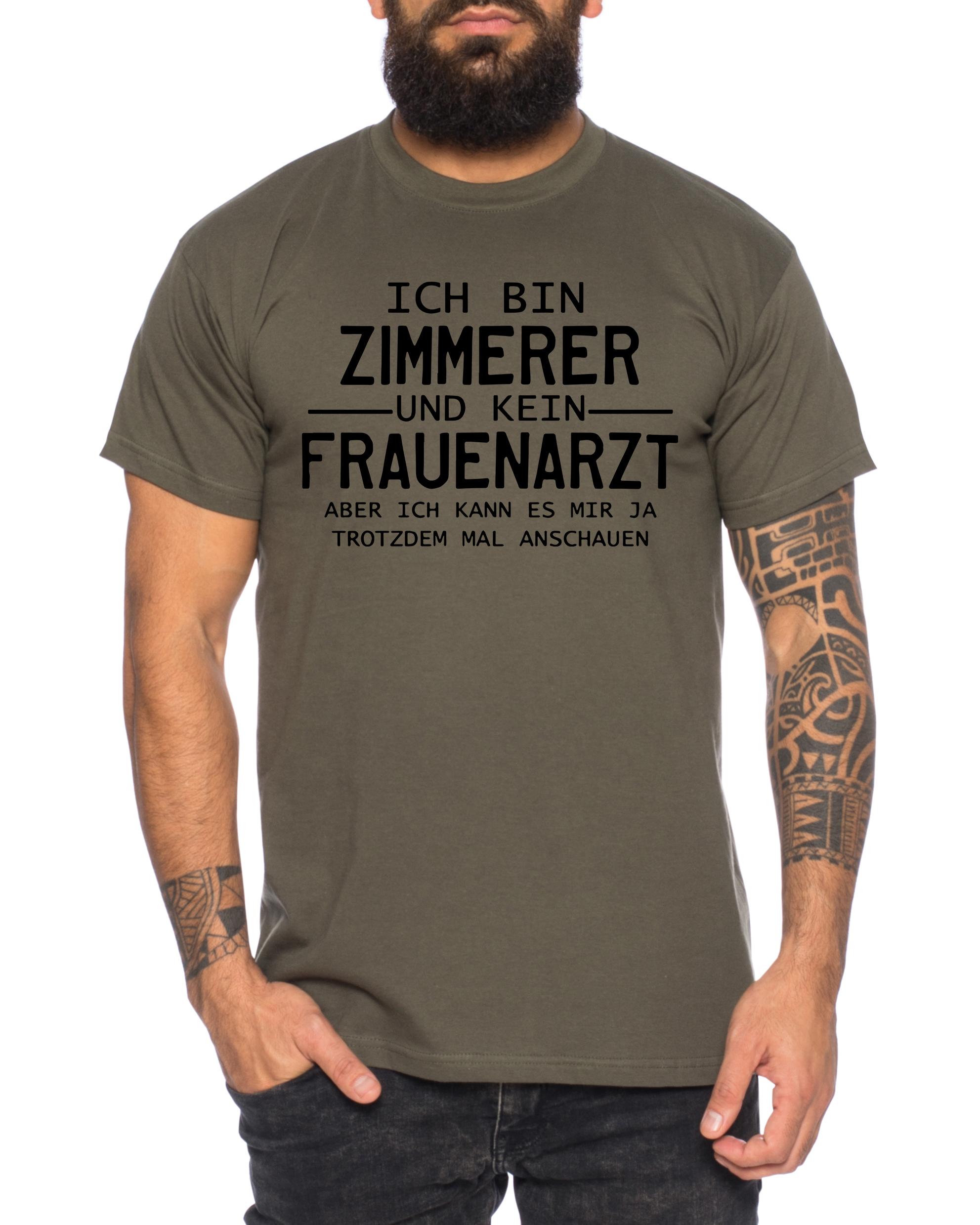 Zimmerer Herren T-Shirt Cooles lustiges Fun Shirt ...