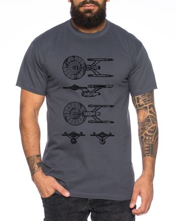 NCC Line Men's Wars T-Shirt Star Imperium Boba Fiction Darth – Bild 4