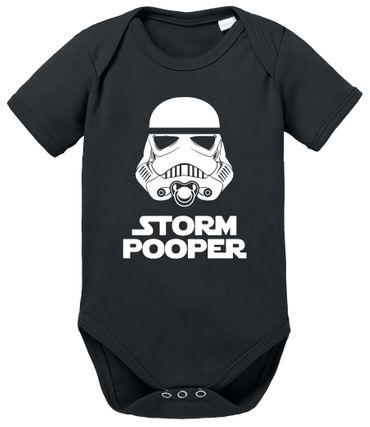Storm Pooper Proverbs Baby Romper Organic Cotton Bodysuit Boys & Girls 0-12 months – Bild 1