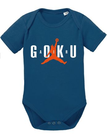 Air Goku Dragon Proverbs Ball Son Baby Romper Organic Cotton Bodysuit Boys & Girls 0-12 – Bild 2