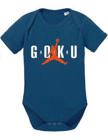 Air Goku Dragon Son Baby Ball Strampler Bio Baumwolle Body Jungen & Mädchen 0-12 Monate – Bild 2