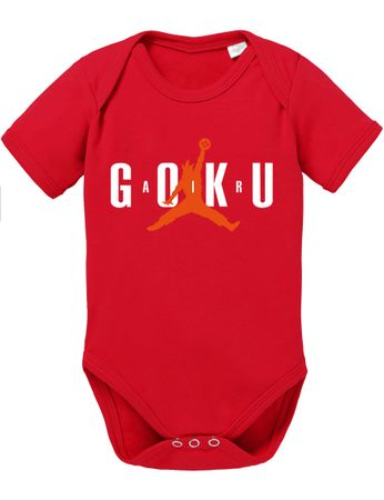 Air Goku Dragon Proverbs Ball Son Baby Romper Organic Cotton Bodysuit Boys & Girls 0-12 – Bild 5