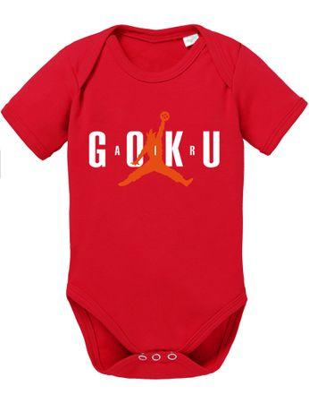 Air Goku Dragon Son Baby Ball Strampler Bio Baumwolle Body Jungen & Mädchen 0-12 Monate – Bild 5