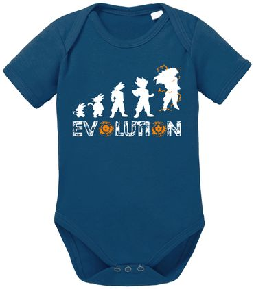Evolution Dragon Proverbs Ball Son Baby Romper Organic Cotton Bodysuit Boys & Girls 0-12 – Bild 4